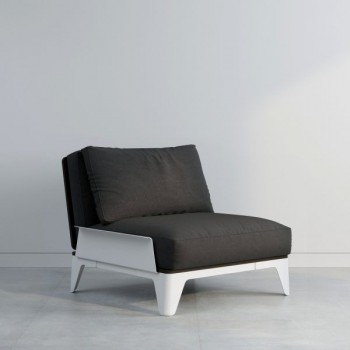Кресло Bjorn black white