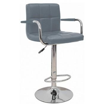 Барный стул HY 356-3A grey PU