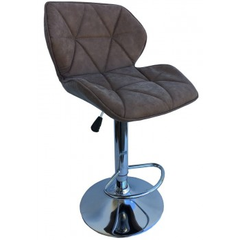 Барный стул HY 3008  New brown nubuck