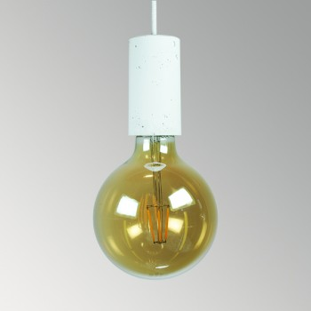 Светильник потолочный Цилиндр белый