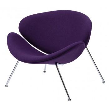 Кресло Foster фиолетовое