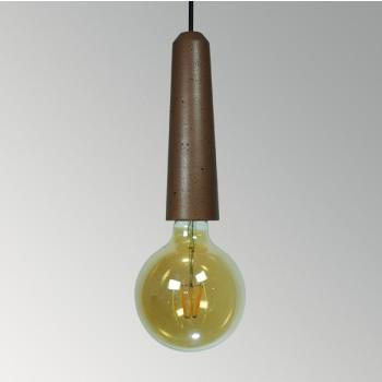 Светильник потолочный Патрон коричневый