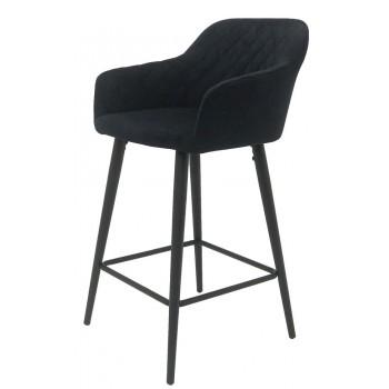 Барный стул Antiba черный H-650