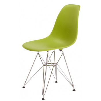 Фото Стул Eames chrome green (Эймс зеленый)