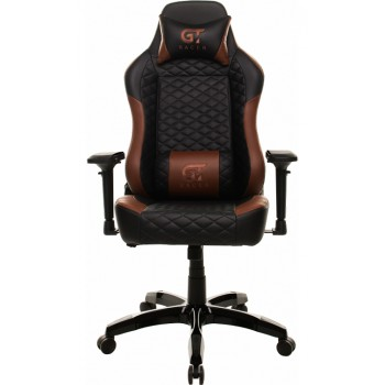Кресло X-2604-4D Black/Brown