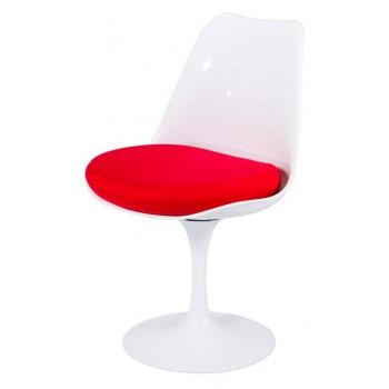 Кресло Tulip white-red