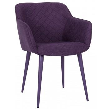 Кресло Бавария баклажан