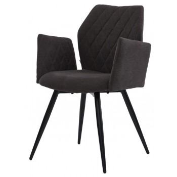 Кресло Glory charcoal grey