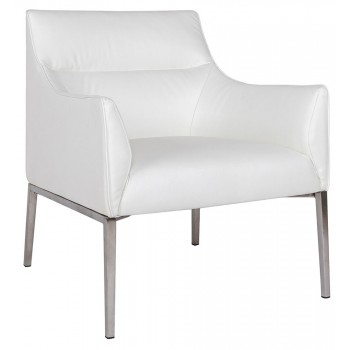 Кресло Merida white лаунж
