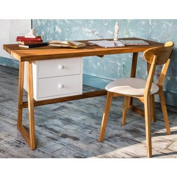 Деревянный стол Student 1200 с тумбой