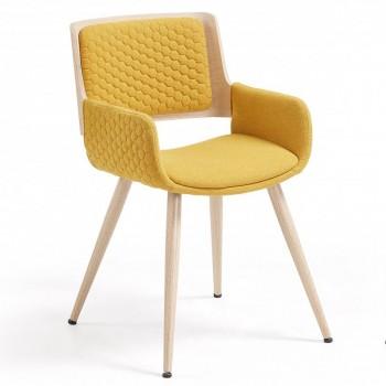 Кресло Honey 2633-7 yellow