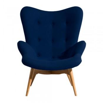 Кресло Флорино синее