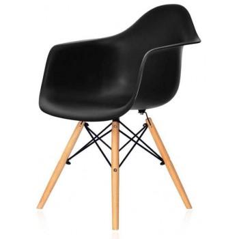 Кресло Eames armchair wood black