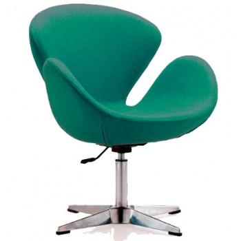 Кресло Сван зеленое