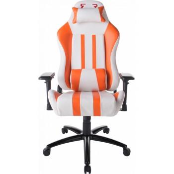 Кресло X-2608 White/Orange