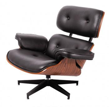 Кресло Eames lounge black