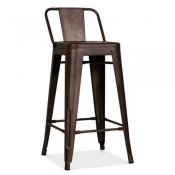 Барный стул Tolix MC-012P graphite H-760