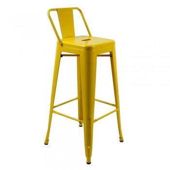 Барный стул Tolix MC-012P yellow H-760