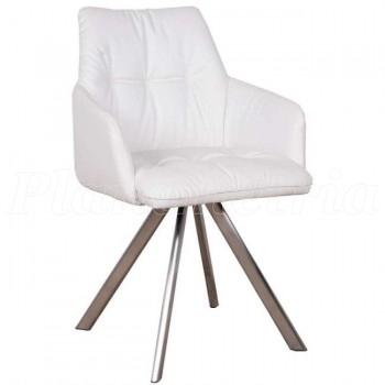 Кресло Leon белый