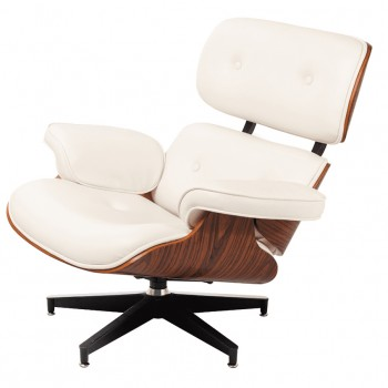 Кресло Eames lounge white