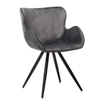 Кресло M-50 ash velvet