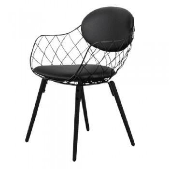 Кресло Pina wood black