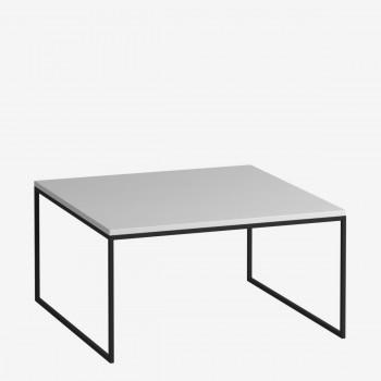 Журнальный стол DROM37-BL/WH