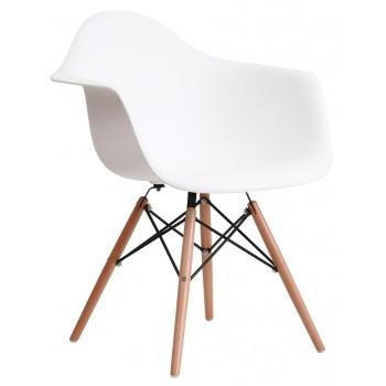 Кресло Salex PL Wood white