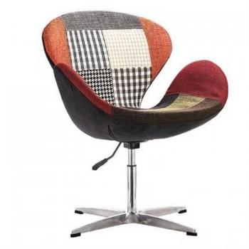 Кресло Swan patchwork