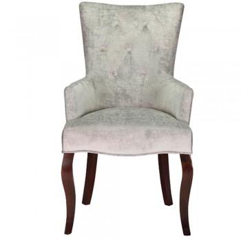 Кресло Баско Орех/Серый