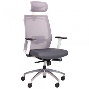 Кресло Install white grey