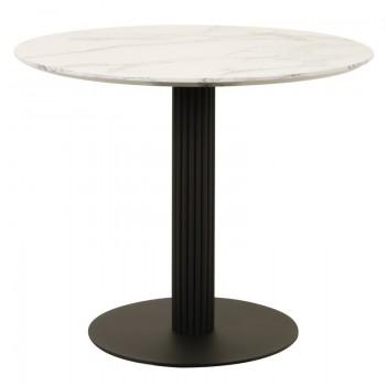 Стол T-319 sivella white marble