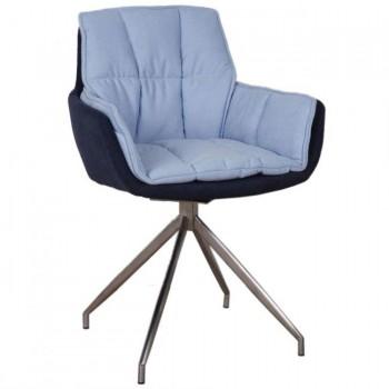 Кресло Palma сине-голубое