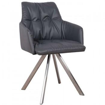 Кресло Leon темно-серый