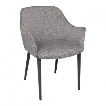 Кресло Milton черно-белый