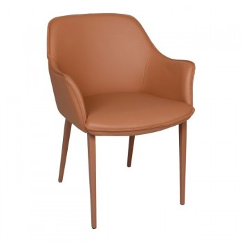 Кресло Milton терракот