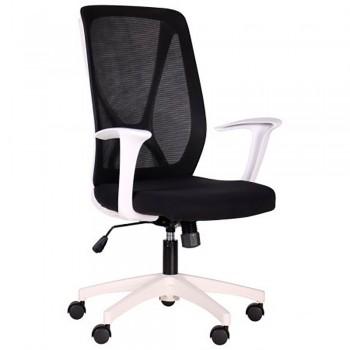 Офисное кресло Nickel White черное