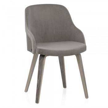 Кресло Fusion grey velur