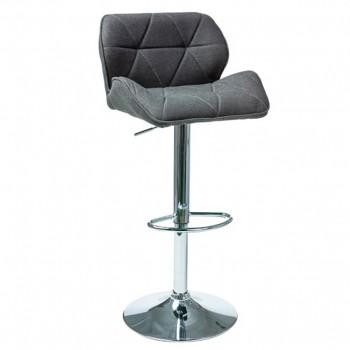 Барный стул C-122 темно-серый