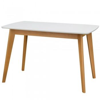 Стол Модерн белый/бук 1500