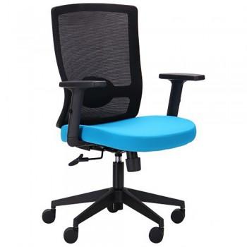 Офисное кресло Xenon LB черный/лазурь