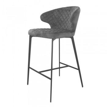 Барный стул Keen steel gray