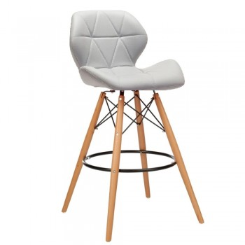 Барный стул Старлайн Вуд серый