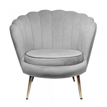 Кресло Кресло мягкое Шелл серый