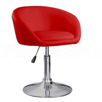 Кресло HY 302b red PU