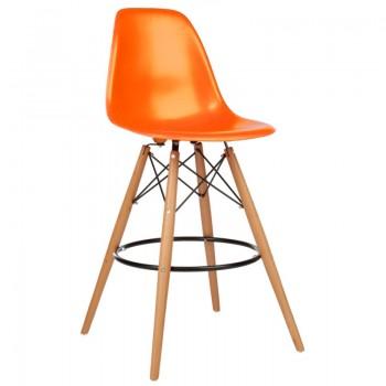 Барный стул 001010HOrange
