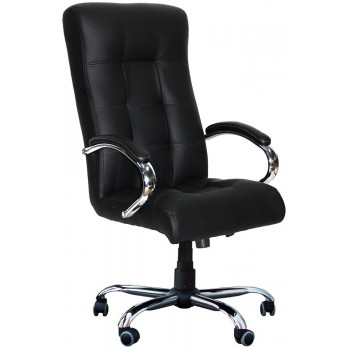 Офисное кресло для руководителя Вирджиния хром
