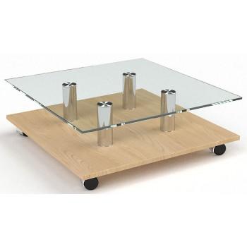 Журнальный стол Твист прозрачный