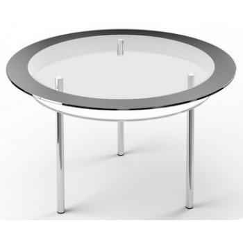 Стеклянный стол R2 1100 прозрачный