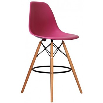 Барный стул Paris wood pink H